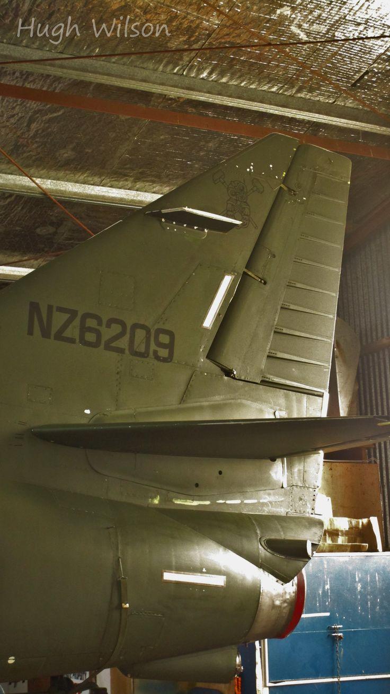 ex RNZAF A4K Skyhawk @ Ardmore