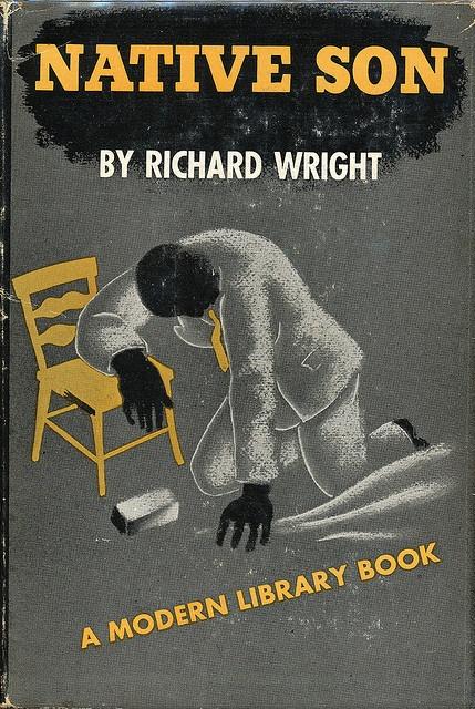 Native Son book jacket by E. McKnight Kauffer 1945