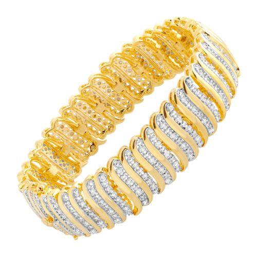 Link Tennis Bracelet by booegies9