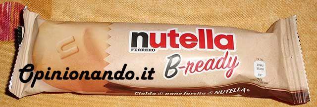 Nutella B-ready Intero #recensione #Opinionando
