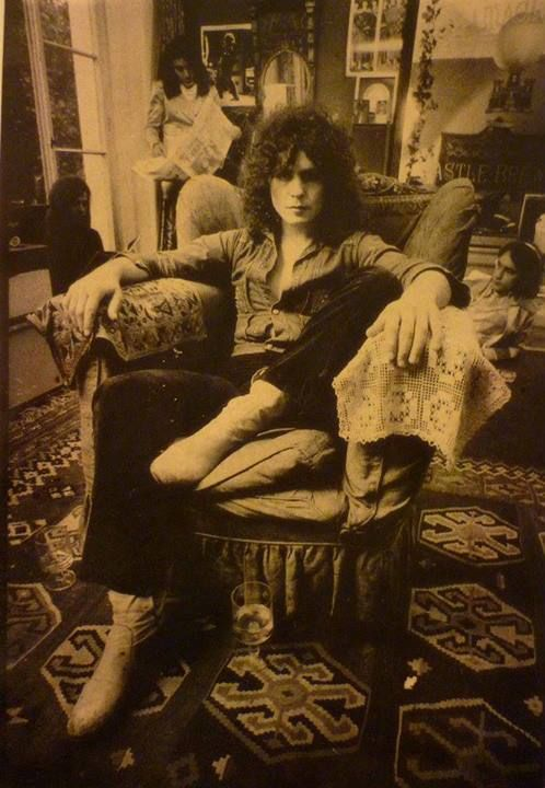 Marc Bolan. Had this poster on my wall back in the day :)