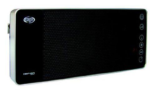 Argo Hi Fan Black Termoventilatore Con Oscillazione E Telecomando