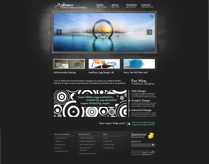 Website re-design www.xpafiolis.com  Needing a new look to promote business this layout was created. This look had a huge emphasis on large ...