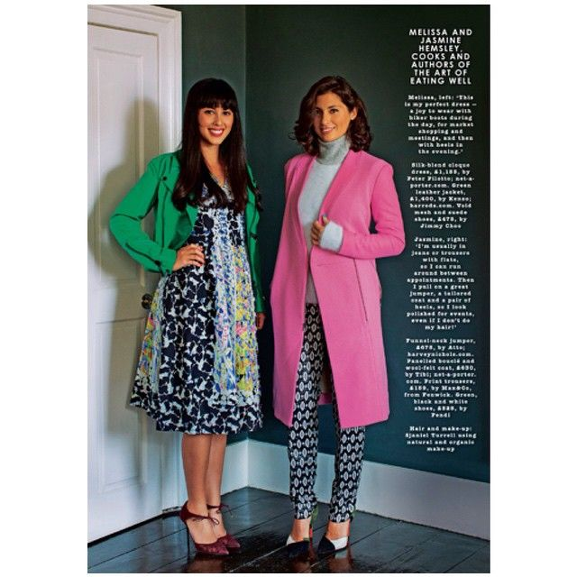 @hemsleyhemsley fash tips from our fav cooks this weekends style mag Sunday times #peterpilotto #kenzo #jimmychoo #atto #tibi #fendi #max&co