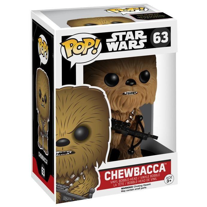 Episode 7 - The Force Awakens - Chewbacca Vinyl Bobble-Head 63 - Funko Pop! par Star Wars