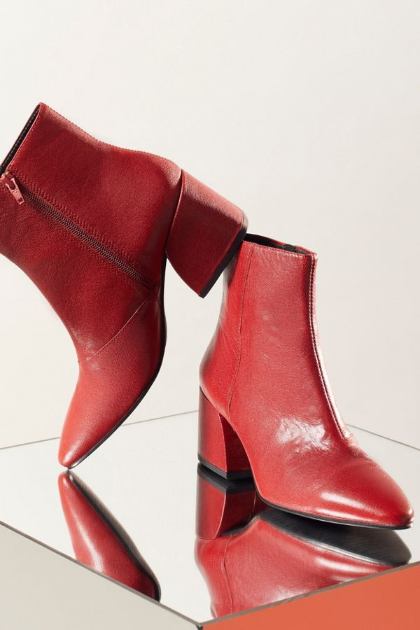 1ce93c353ba71 20 Red Boots   Booties to Rock Your Winter Wardrobe - High HeelSEEK - red  block heel booties!