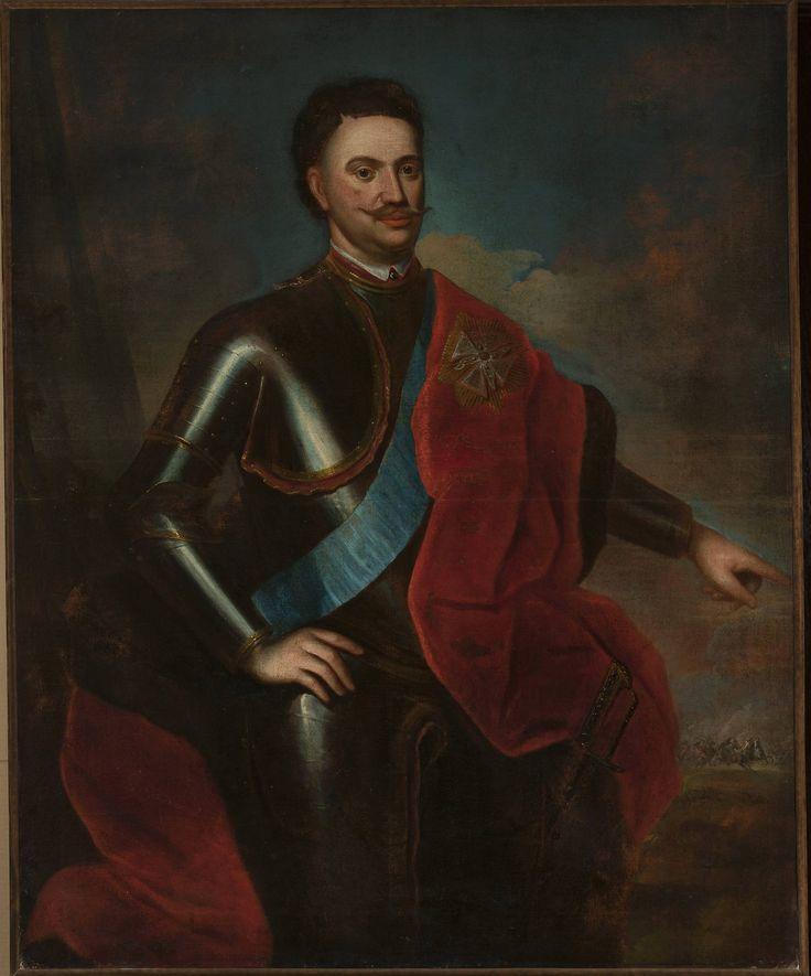 Portret Piotra Czapskiego (?-1737), wojewody pomorskiego.