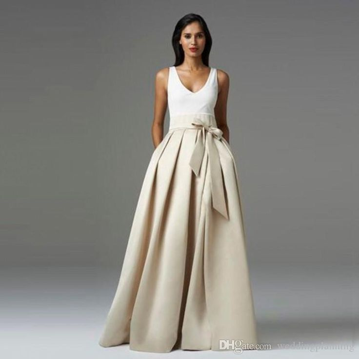 2016 High Quality Satin Party Skirt For Women Ruffles Bow Long Tutu Laberate Maxi Elasitc Waist Formal Skirts