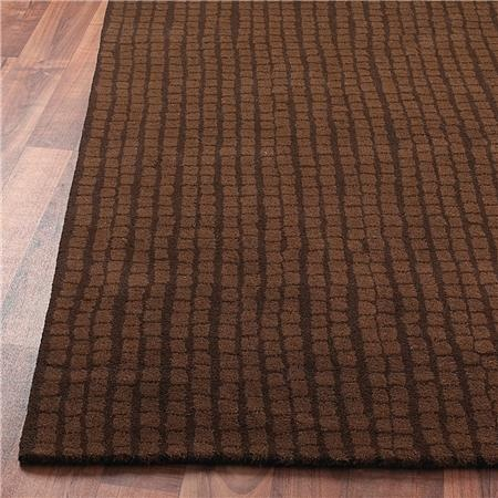 The brown rug I found for the kids' room. I can't wait for it to arrive! (bought from overstock.com) Contemporary Mosaic Tile Hand Tufted Rug