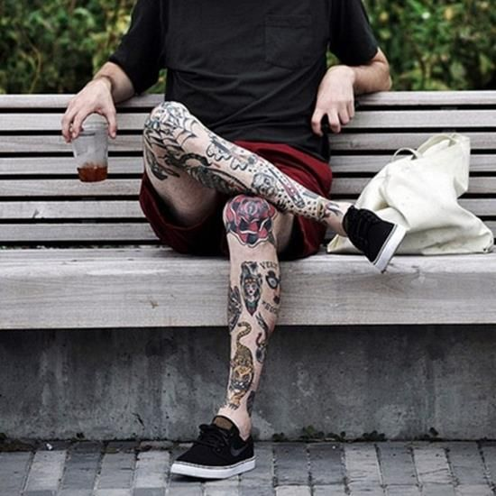 17 Best Ideas About Dedication Tattoos On Pinterest: 17+ Best Ideas About Leg Tattoos On Pinterest