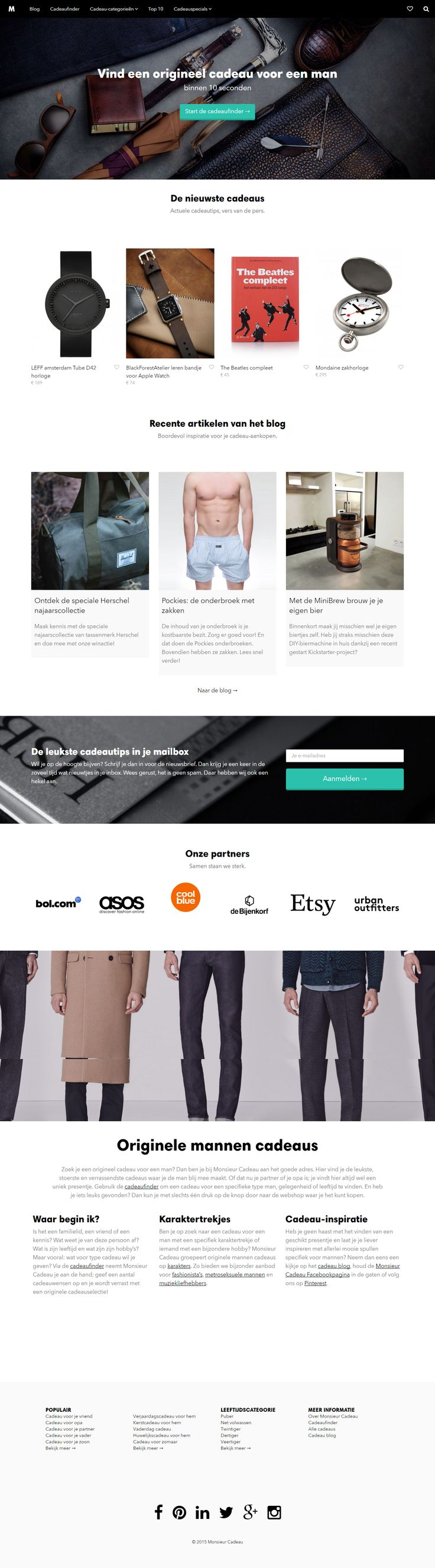 The story of an affiliate store built with Shopkeeper WP theme https://www.getbowtied.com/affiliate-marketing-tips-monsieur-cadeau-store/?utm_source=pinterest.com&utm_medium=social&utm_content=monsieur-cadeau&utm_campaign=customer-stories #affiliatemarketing #webdesign #wordpress #bestwordpress #ecommerce #onlineshop #ui #uxdesign #customerstories