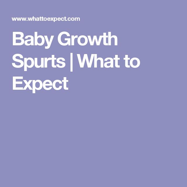 Baby Growth Spurts | What to Expect