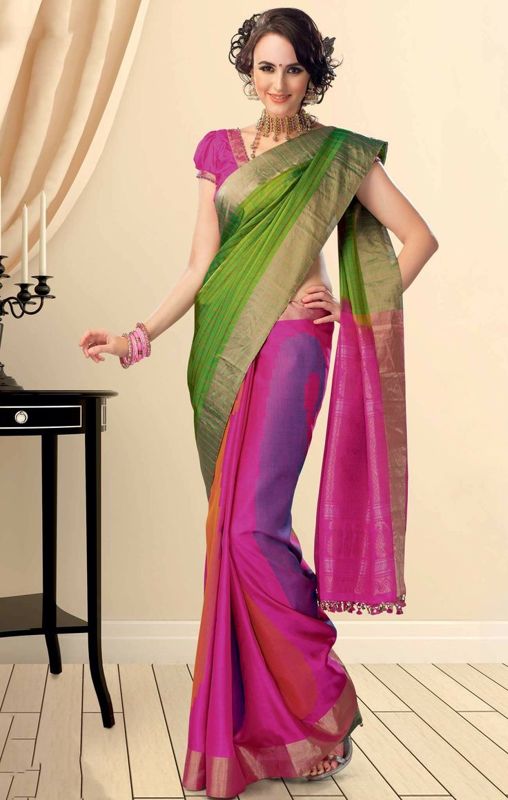 40 best sarees designs images on Pinterest | Silk sarees, Indian ...