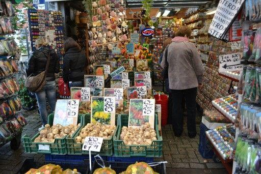 Mercado de tulipanes