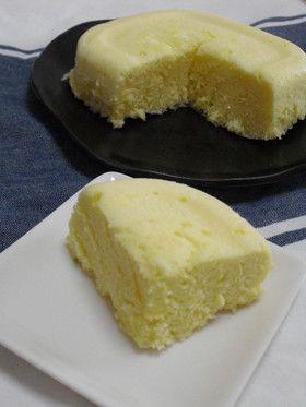 レンジで簡単♪ほんのり香るチーズ蒸しパン