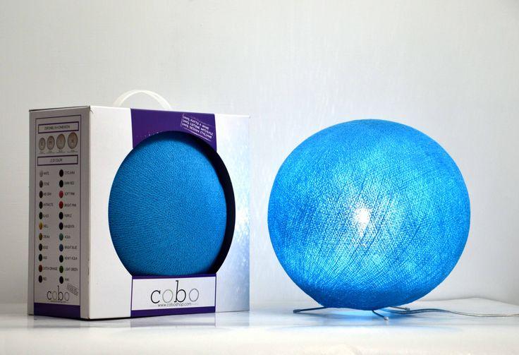 Cofanetto BLU!! Splendida COBOlampada dal colore azzurro, racchiusa nel prezioso cofanetto!