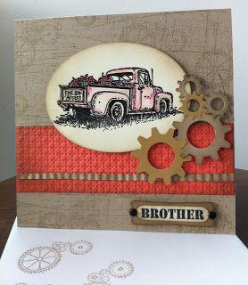 Card with car automobil - for men - kort med bil - kort til mænd The Friday Mashup!: FM100 Picks!
