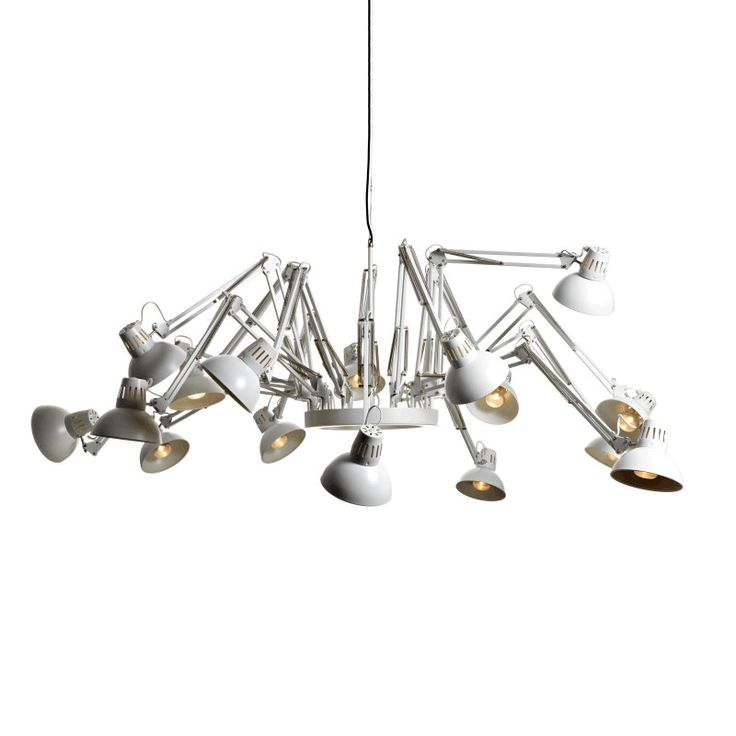 Adjustable steel pendant lamp dear ingo by moooi design ron gilad