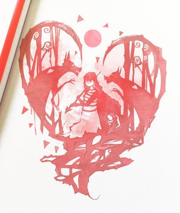 Heart Attack #artwork #NanoMortis