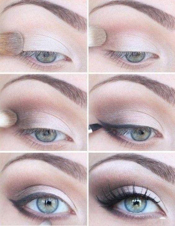 25 B Sta Maquillage Pour Yeux Vert Id Erna P Pinterest Sotig Gonmakeup Smokey Blue Eyes