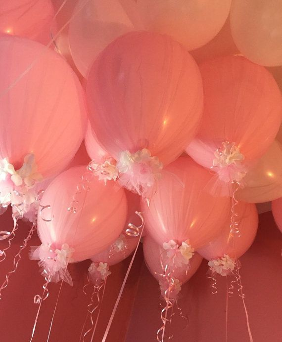 Tulle Balloon-16 inch by JennasInspirations on Etsy