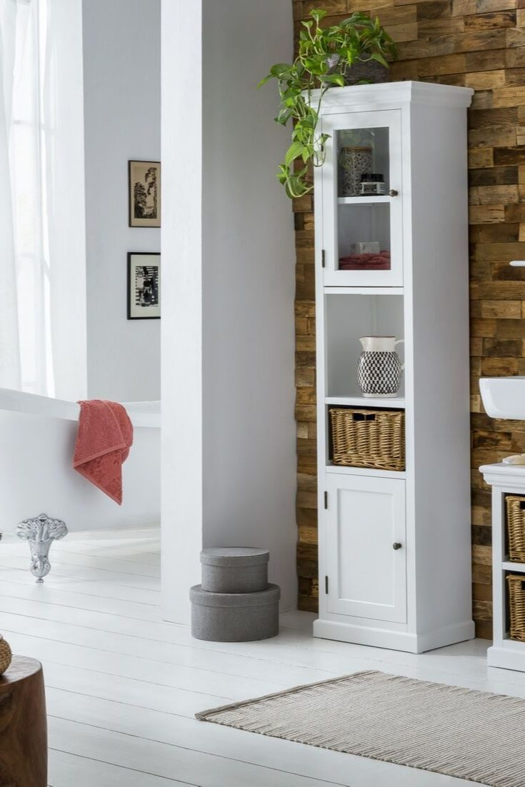 Woodkings Shop Hochschrank Bad Hochschrank Badezimmer Inspiration