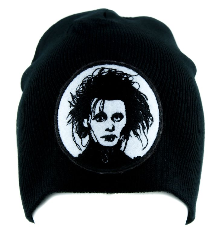 Edward Scissorhands Beanie Alternative Gothic Clothing Knit Cap  #gothgoth #batcave #club #emo #psychobilly #anime #pinup #rivethead #scene #tradgoth
