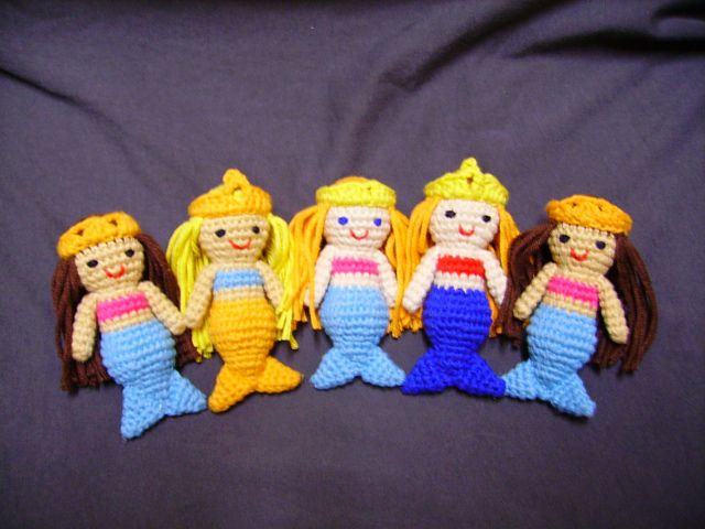Amigurumi Little Mermaid : Best 20+ Little mermaid crochet ideas on Pinterest