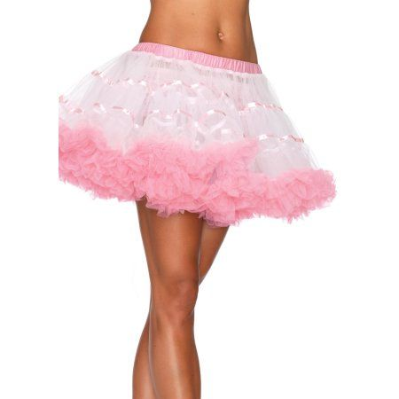 Black White Red Blue Green Pink Tulle Petticoat Burlesque Fancy Dress Tutu Skirt