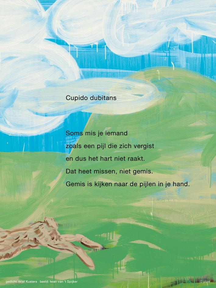 gedicht: Wiel Kusters / beeld: Iwan van 't Spijker ⓒ plint