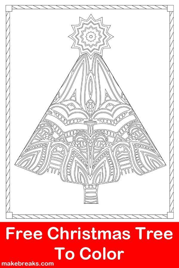 Art Therapy coloring page Christmas : Mandala Christmas 7 | 900x600