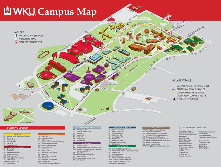 university of kentucky campus map - Google Search