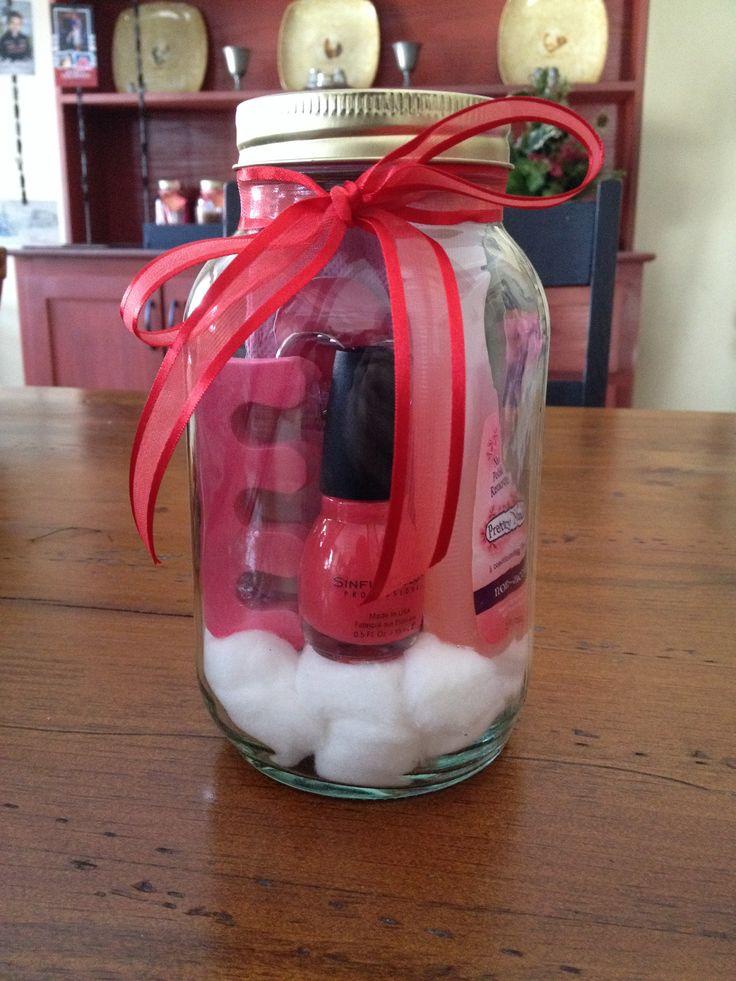 Spa Pedicure In A Jar Business Ideas Pinterest Spa