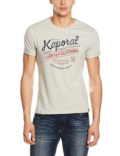 Kaporal Fedy, Polo Homme, Gris (Greym), Medium (Taille Fabricant: M): Tweet Tee Shirt Homme Marque : Kaporal MatiÚre : Coton Couleur :…