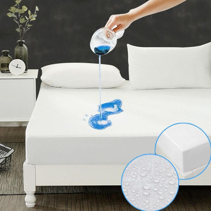 Size 190X90cm matelas Cheapest Smooth Waterproof Mattress Protector  Cover For Bed Wetting breathable Hypoallergenic Anti-mite