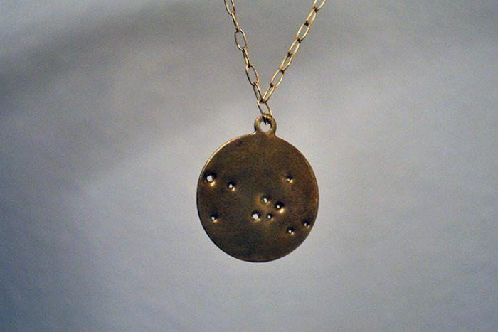 diy constellation crafts necklace