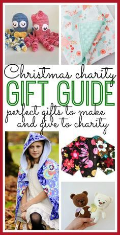 Christmas Charity Gift Guide to DIY and Give - Sugar Bee Crafts