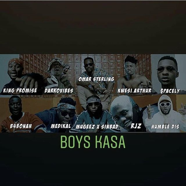 Music Video R2bees Boys Kasa Feat King Promise Kwesi Arthur Darkovibes Rjz Spacely Humble Dis Medikal B4bonah Https Playlistgh Com 2018 10 Music Video