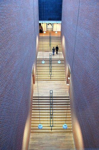 Inside the Bonnefanten Museum Maastricht, the Netherlands