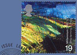 Millennium special issue stamp (David Tress)