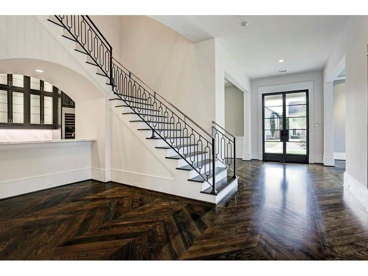 3414 Robinhood West University Place, TX 77005: Photo Entry and walk in wet bar.  Note details. Image is of another, similarly constructed property.