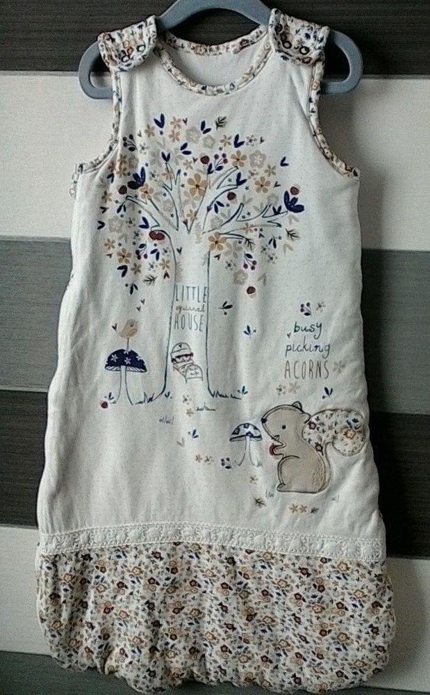promo code 81c3f 5bc69 Baby Sleeping Bag Floral Woodland Theme TU Age 6-12 Months ...