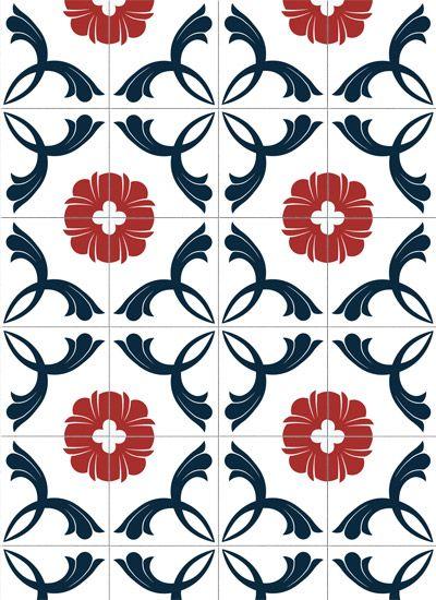 115 melhores imagens de adesivos decorativos no pinterest for Azulejos decorativos