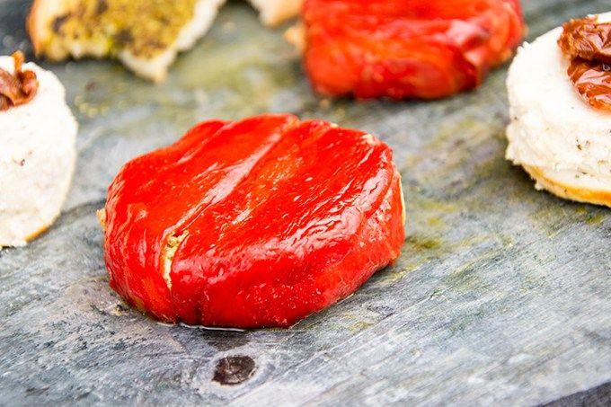 Recept ricotta met paprika