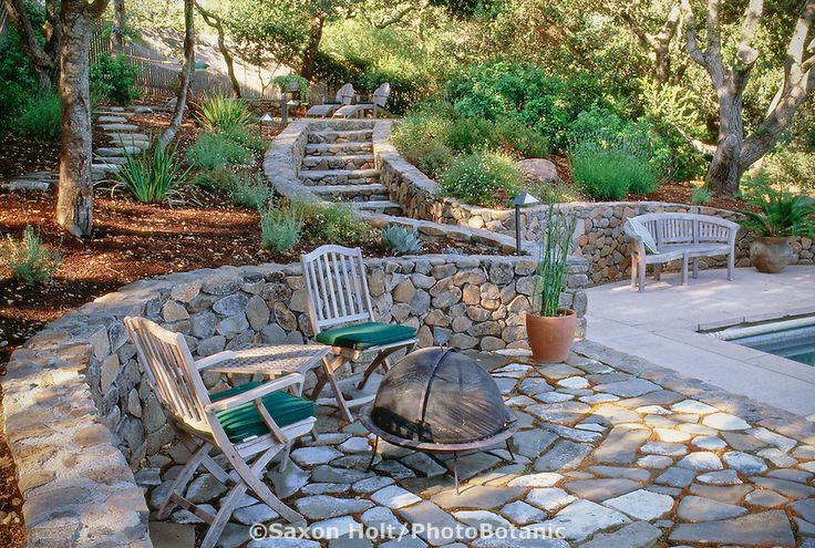 rock garden patio ideas rock patio ideas lovely curved stone wall