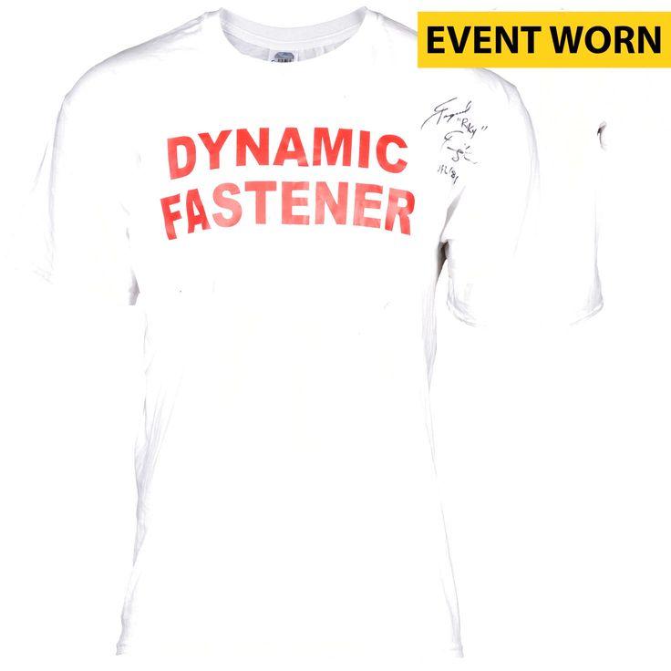 Raquel Pennington Ultimate Fighting Championship Fanatics Authentic Autographed UFC 181 Event-Worn Walkout Shirt with UFC 181 Inscription - Defeated Ashlee Evans-Smith via 1st Round Submission - $239.99