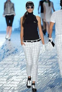 Shuyan's golfing journey: wheet wheet beautiful golfing outfits from lacoste spring 2009 collection