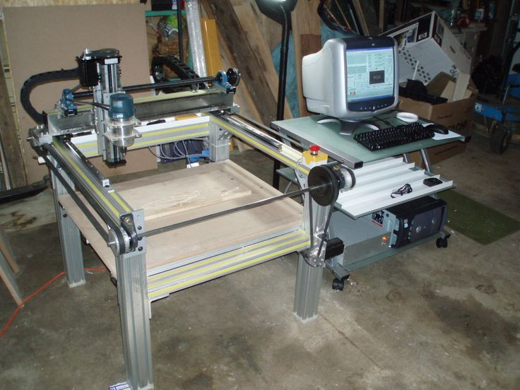 DIY CNC Router Table