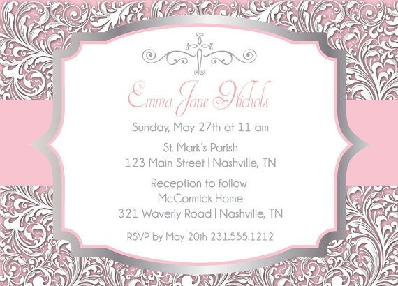 278 best images about First Holy Communion – Communion Party Invitations