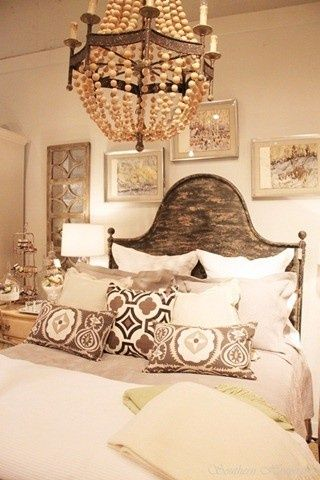 1000 ideas about above headboard decor on pinterest for Brown neutral bedroom ideas